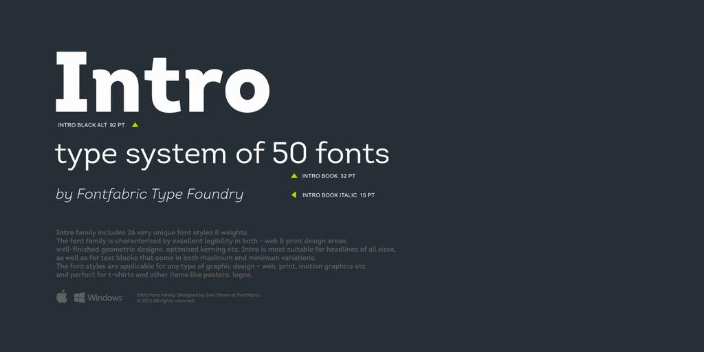 Intro regular скачать шрифт.