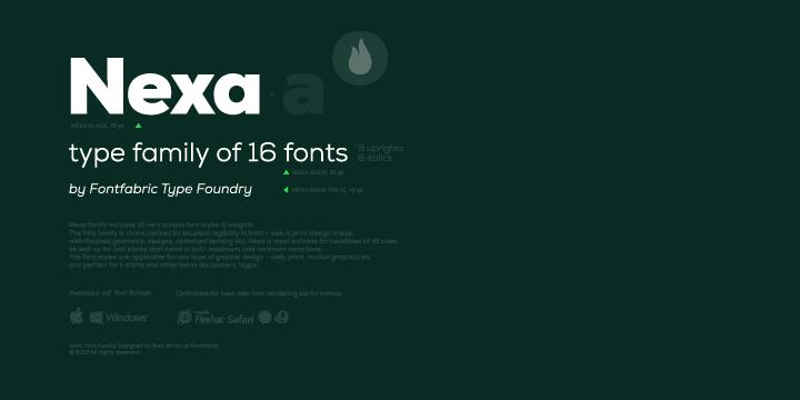 Nexa Font Free Download