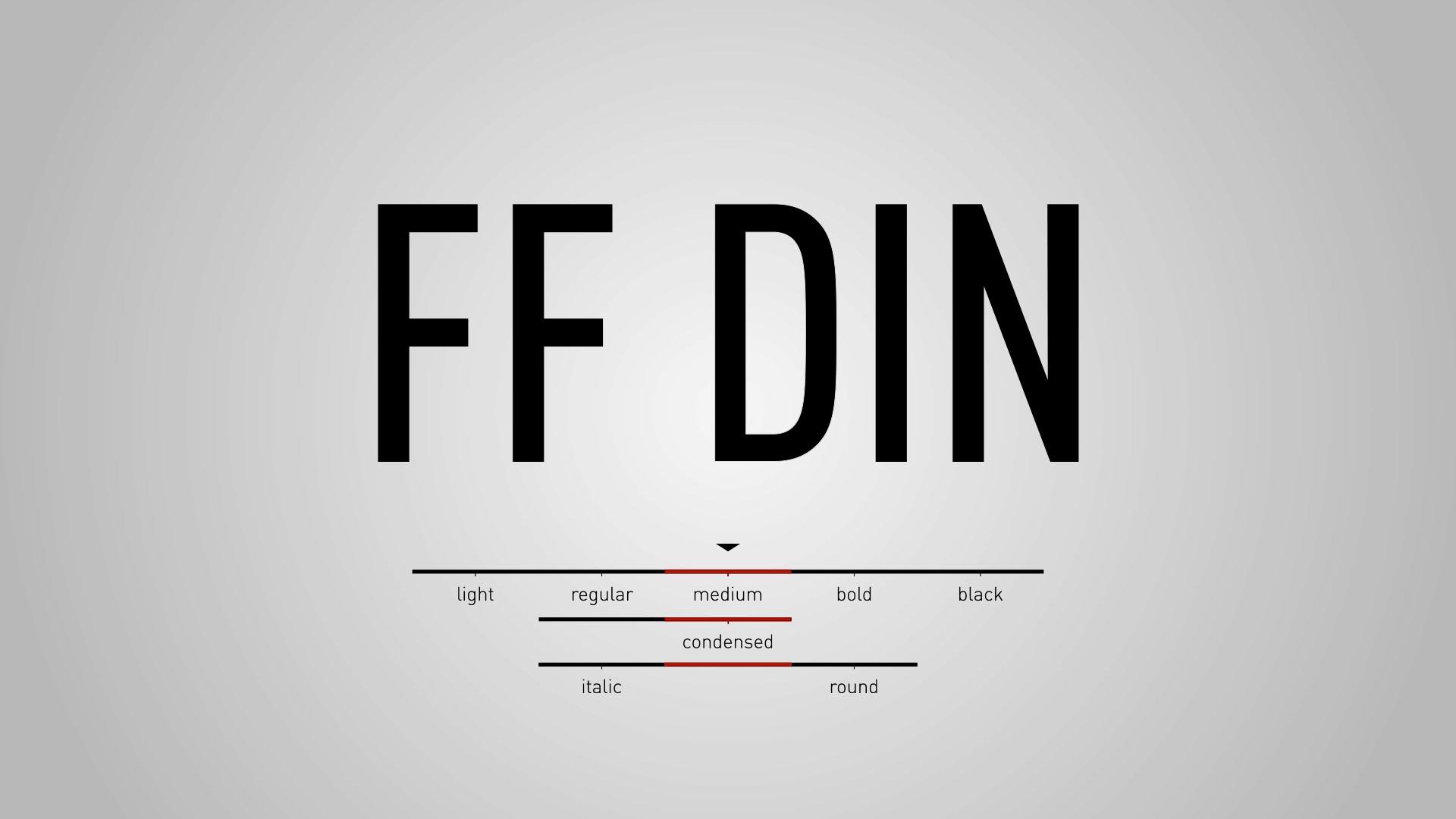 DIN Condensed | Adobe Fonts