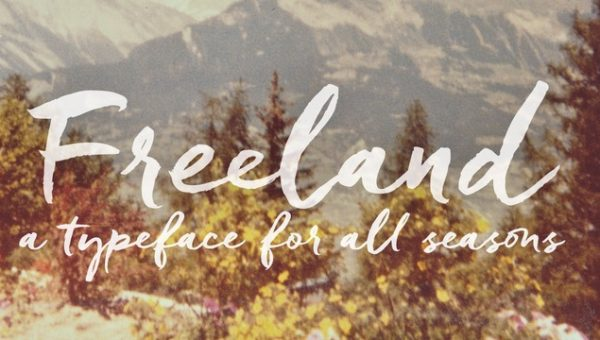 Freeland Font Free Download