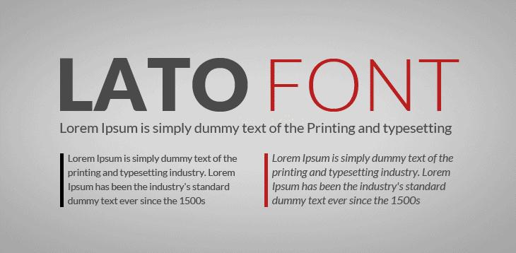 lato semibold font free