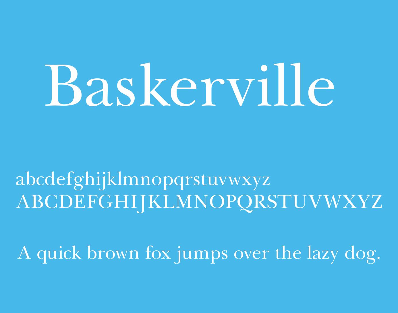Baskerville free