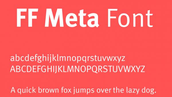 FF Meta Font Free Download