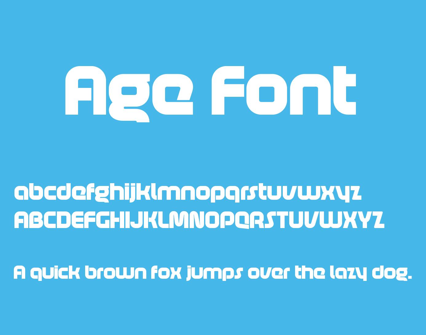 age-font