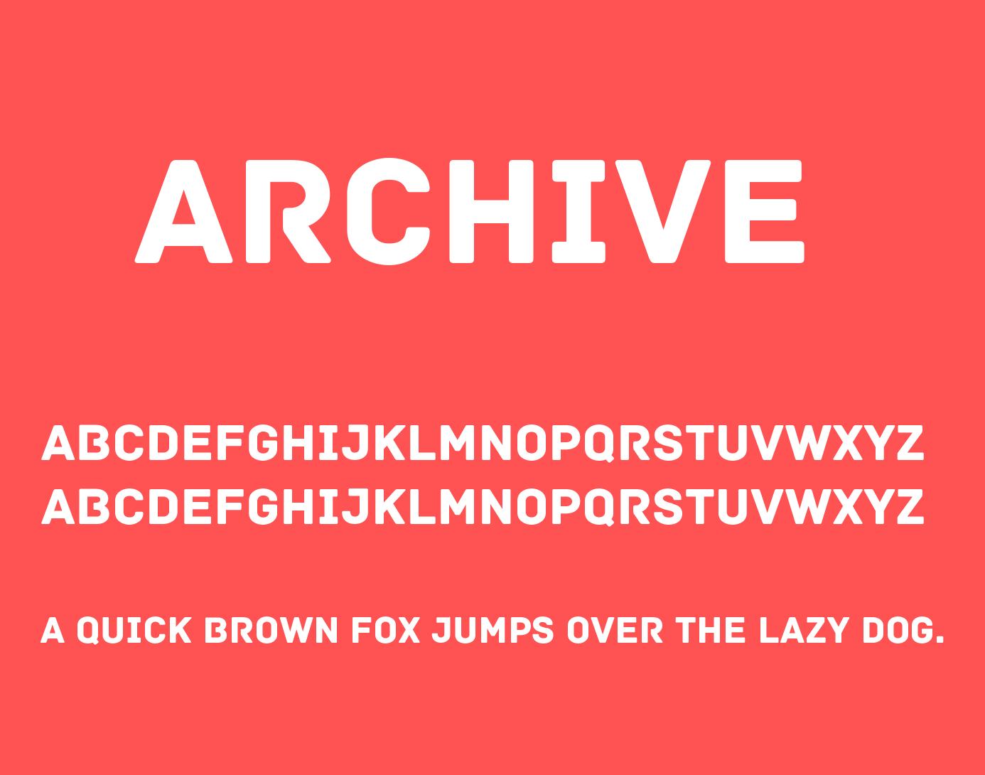 archive-font