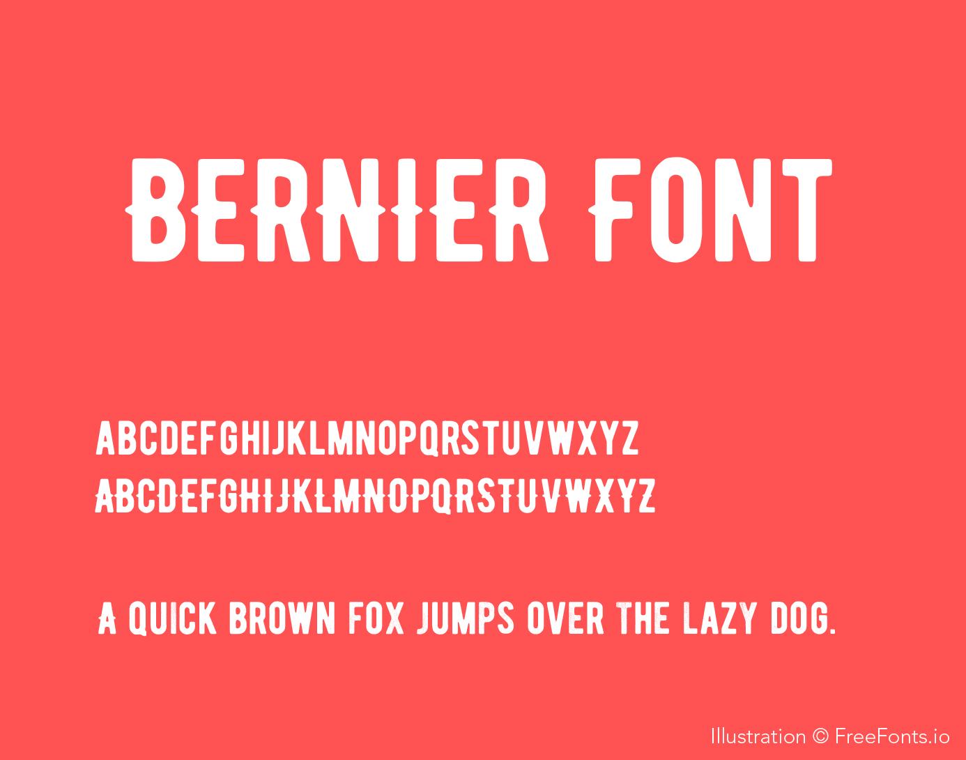 bernier-font_poster