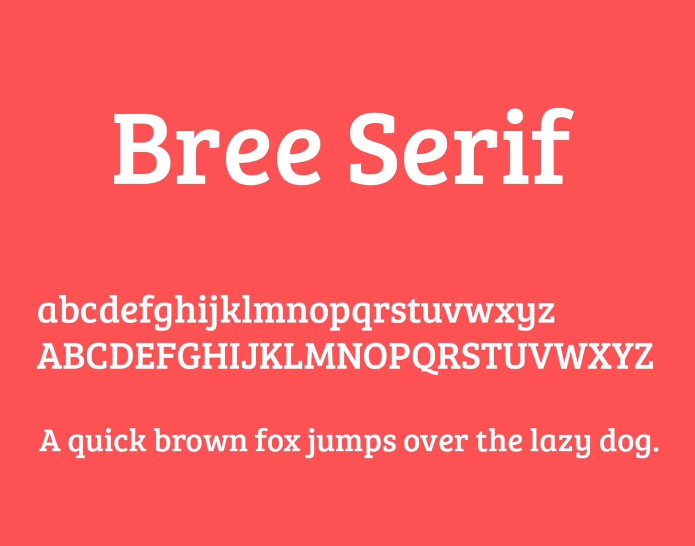 bree-serif-font