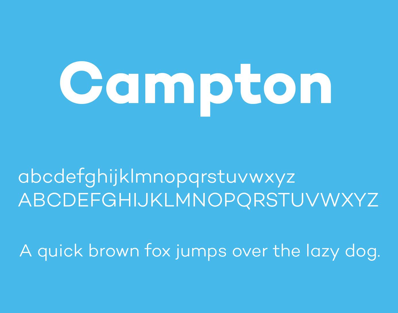 campton-font