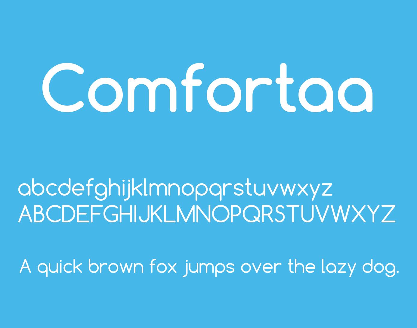 comfortaa-font