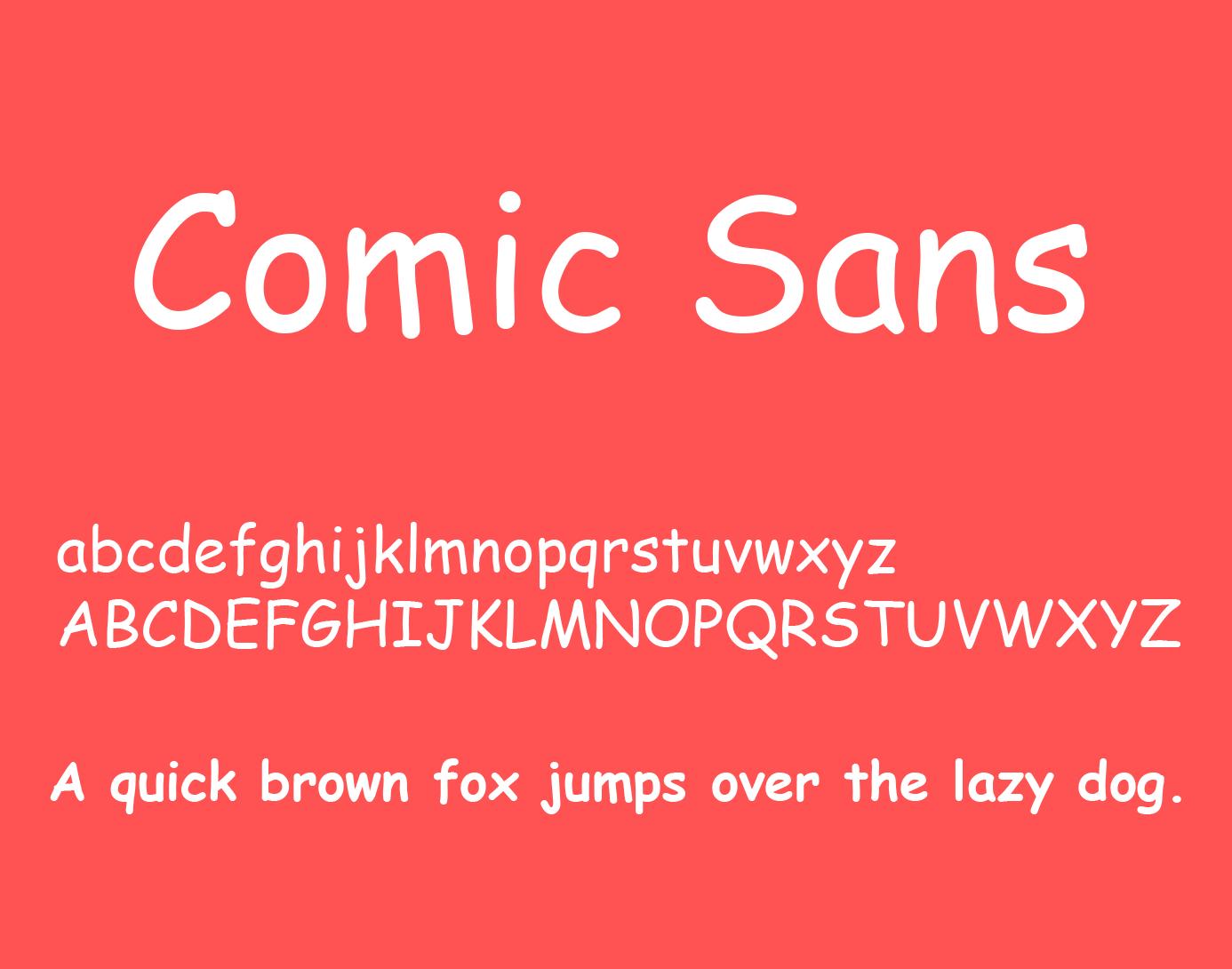 Скачать comic sans ms