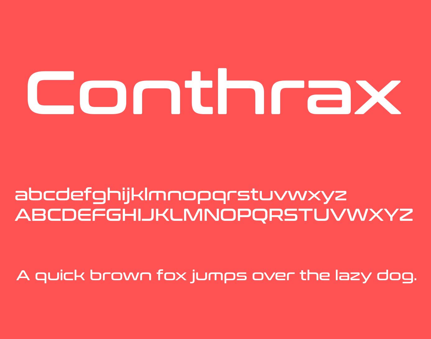 conthrax-font