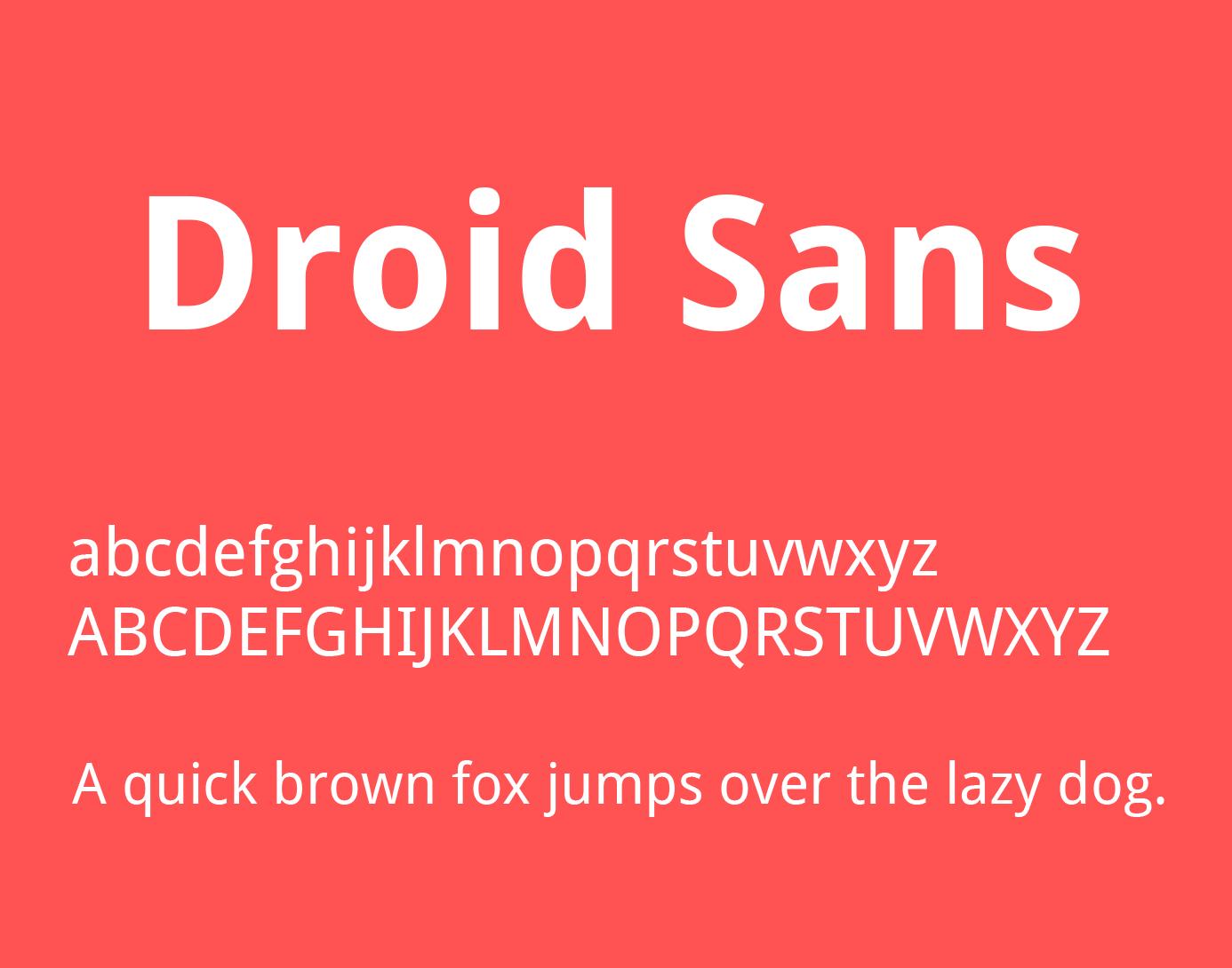 droid-sans-font