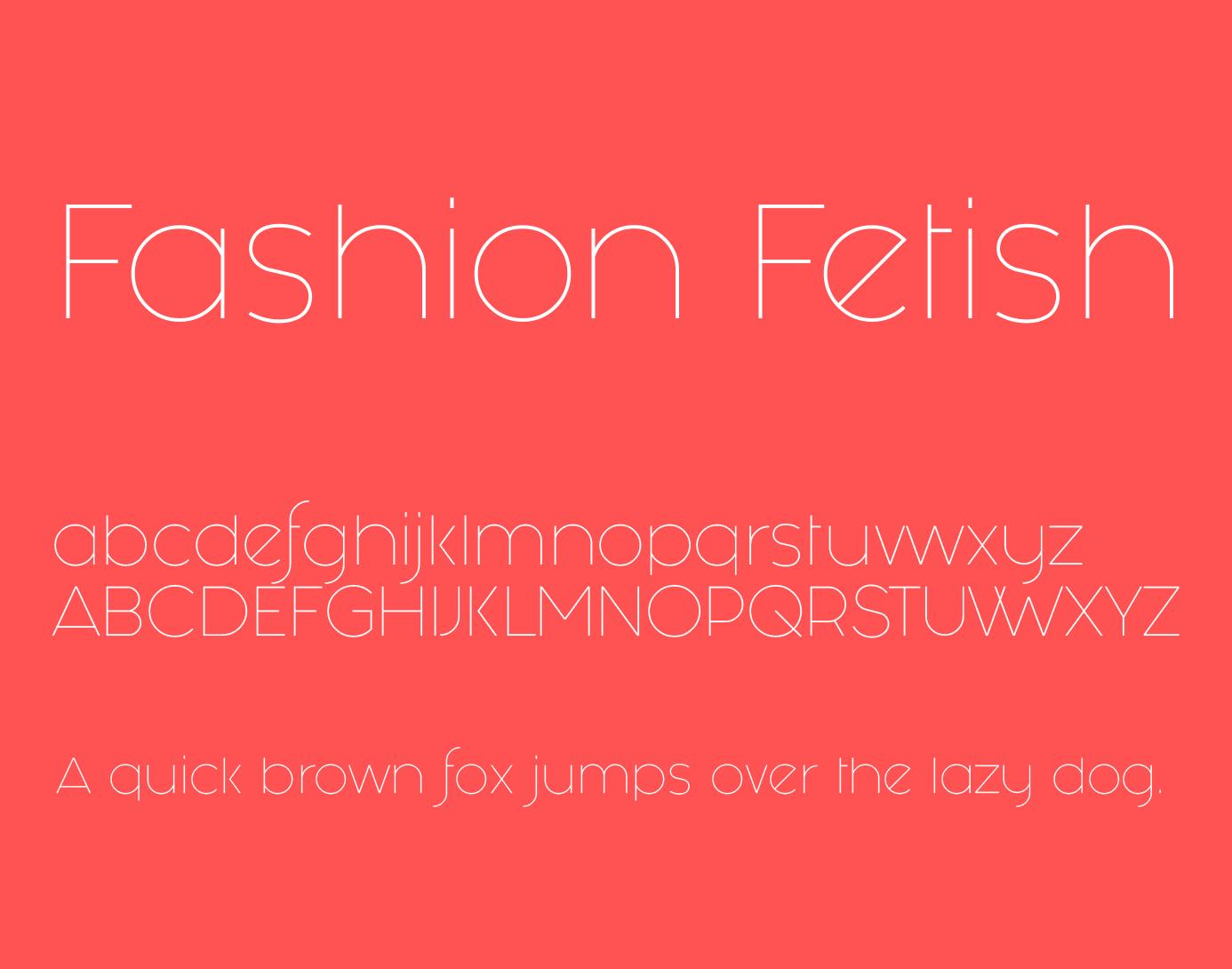 fashion-fetish-font