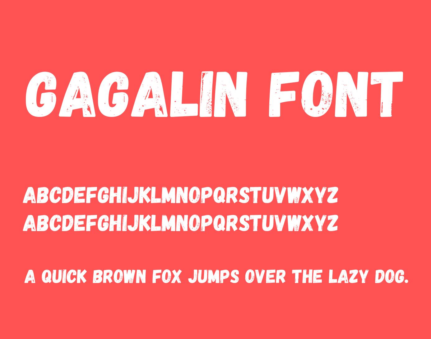 gagalin-font