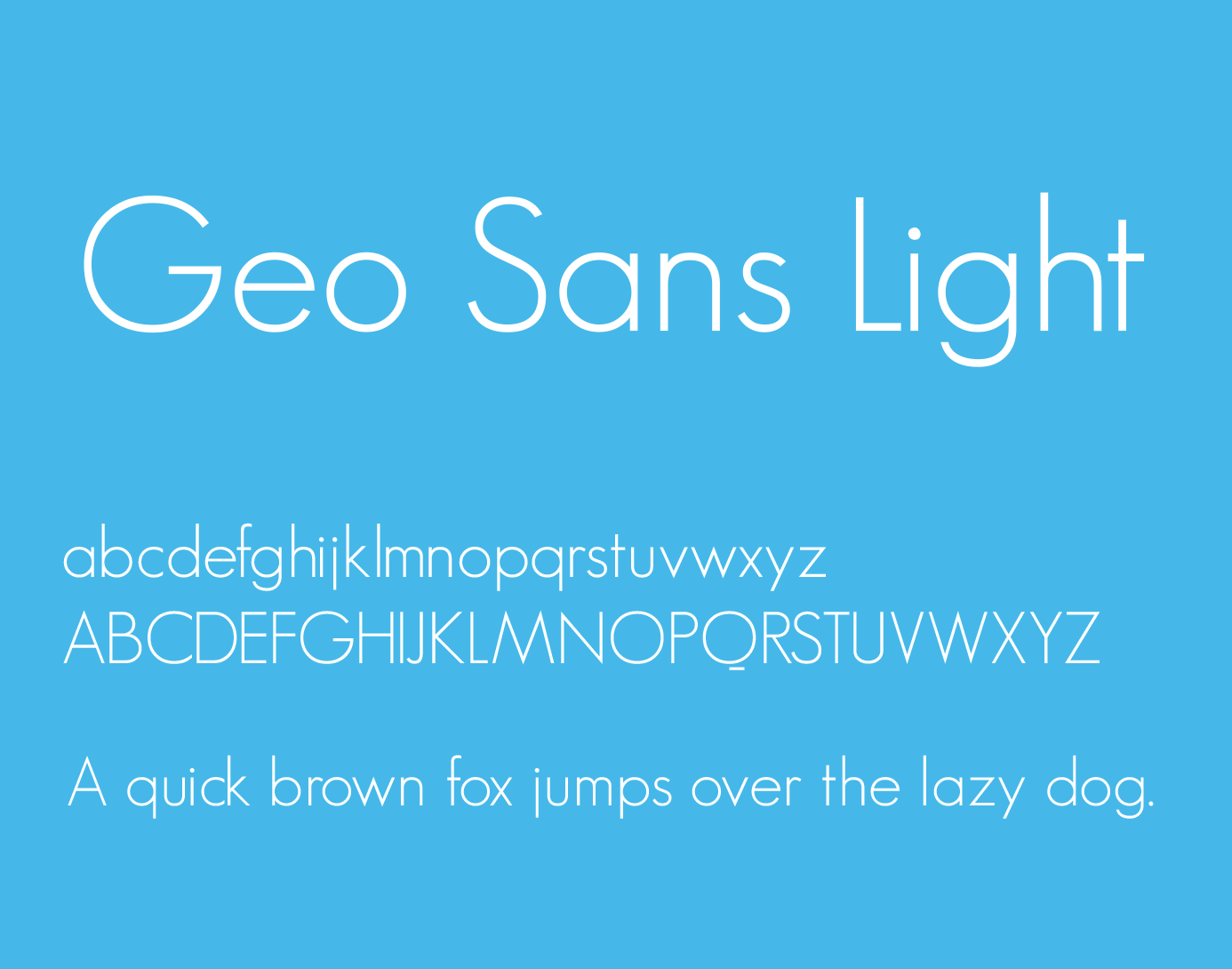 geo-sans-light