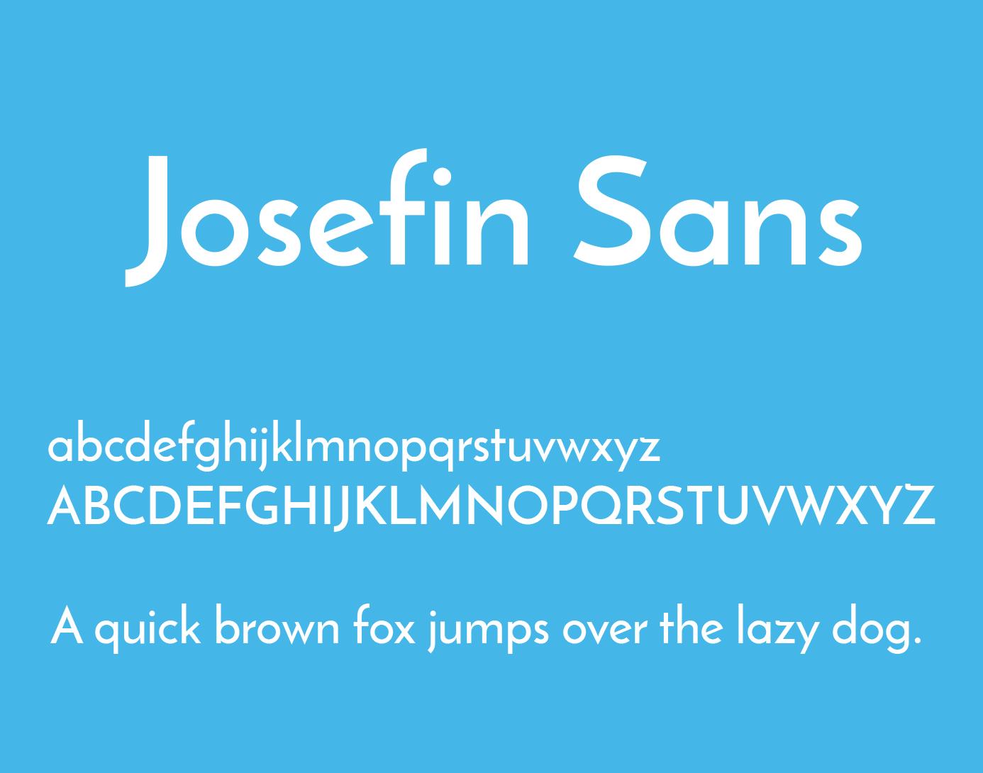 josefin-sans-font