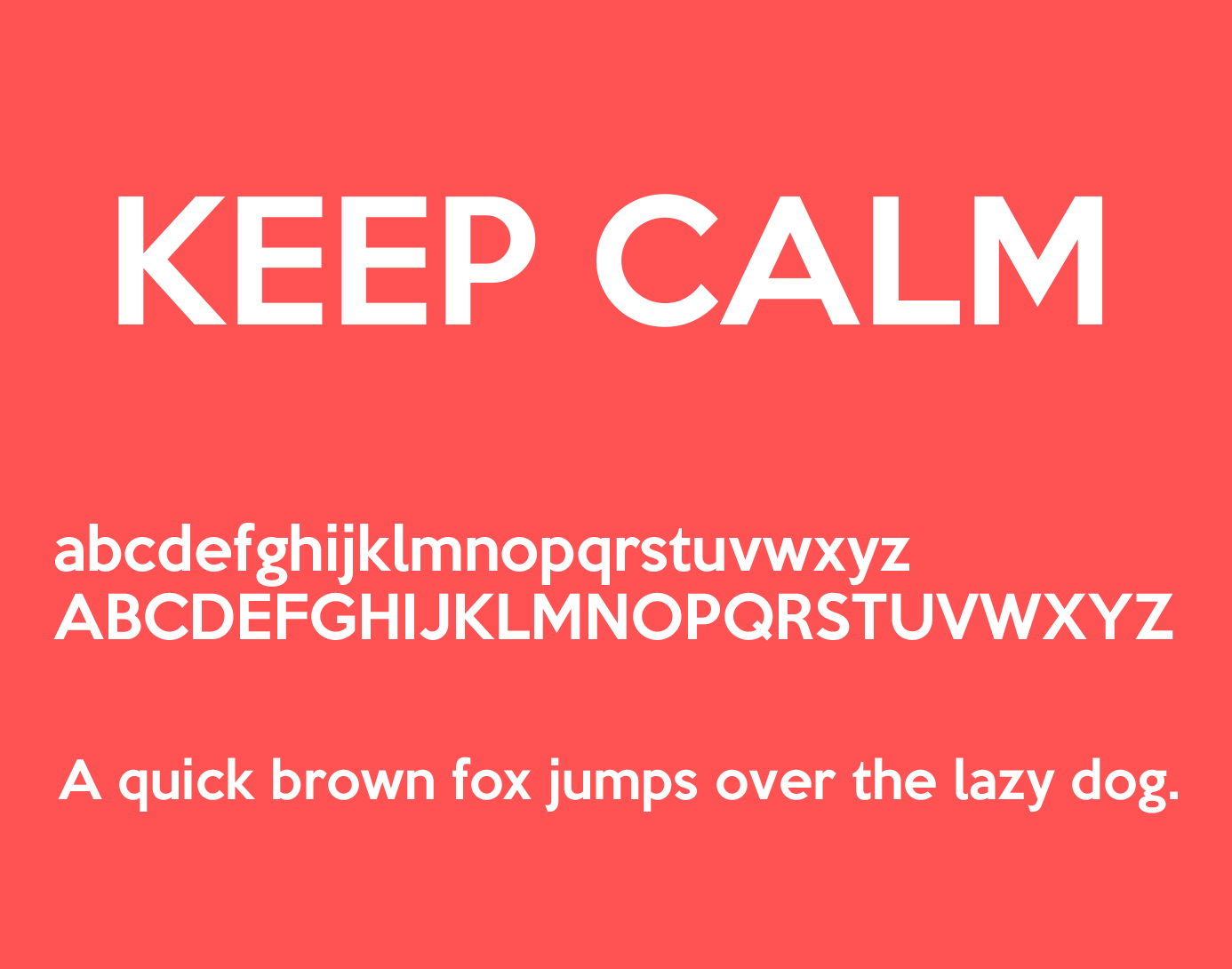 keep-calm-font