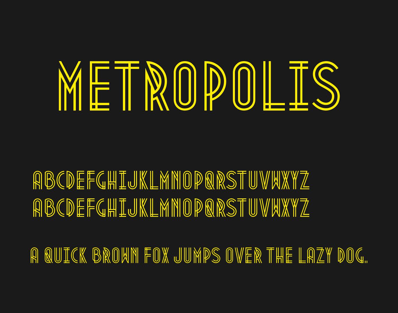 metropolis-font