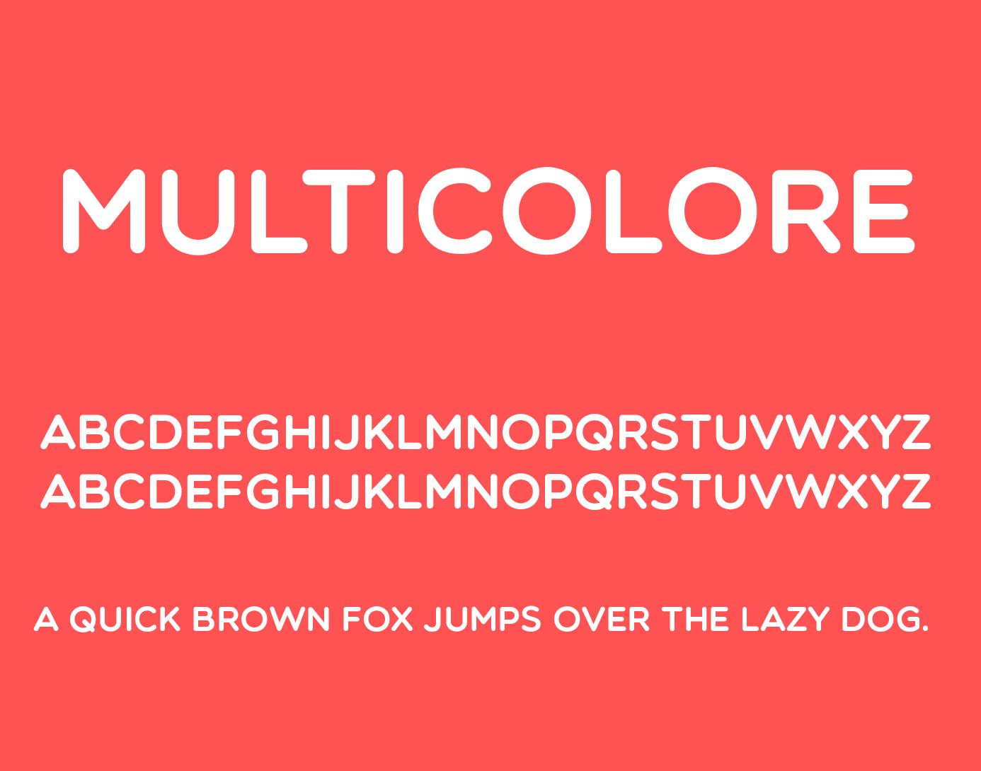 multicolor-font