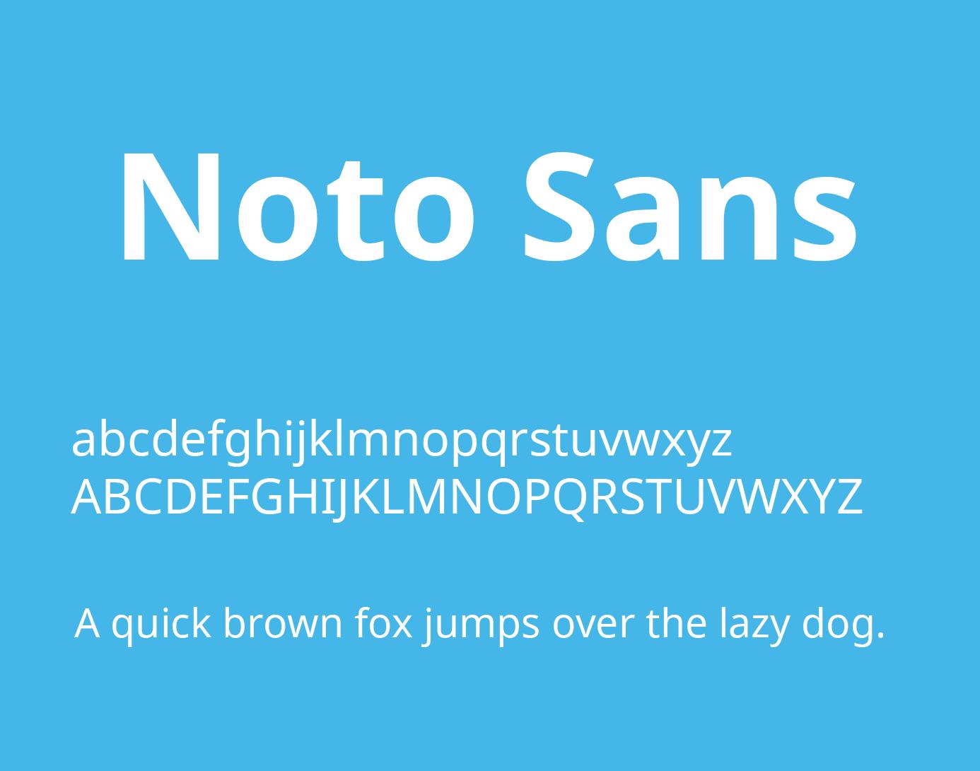 Noto Sans Font Free Download