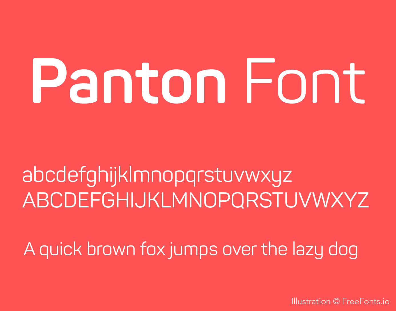 panton-font-poster