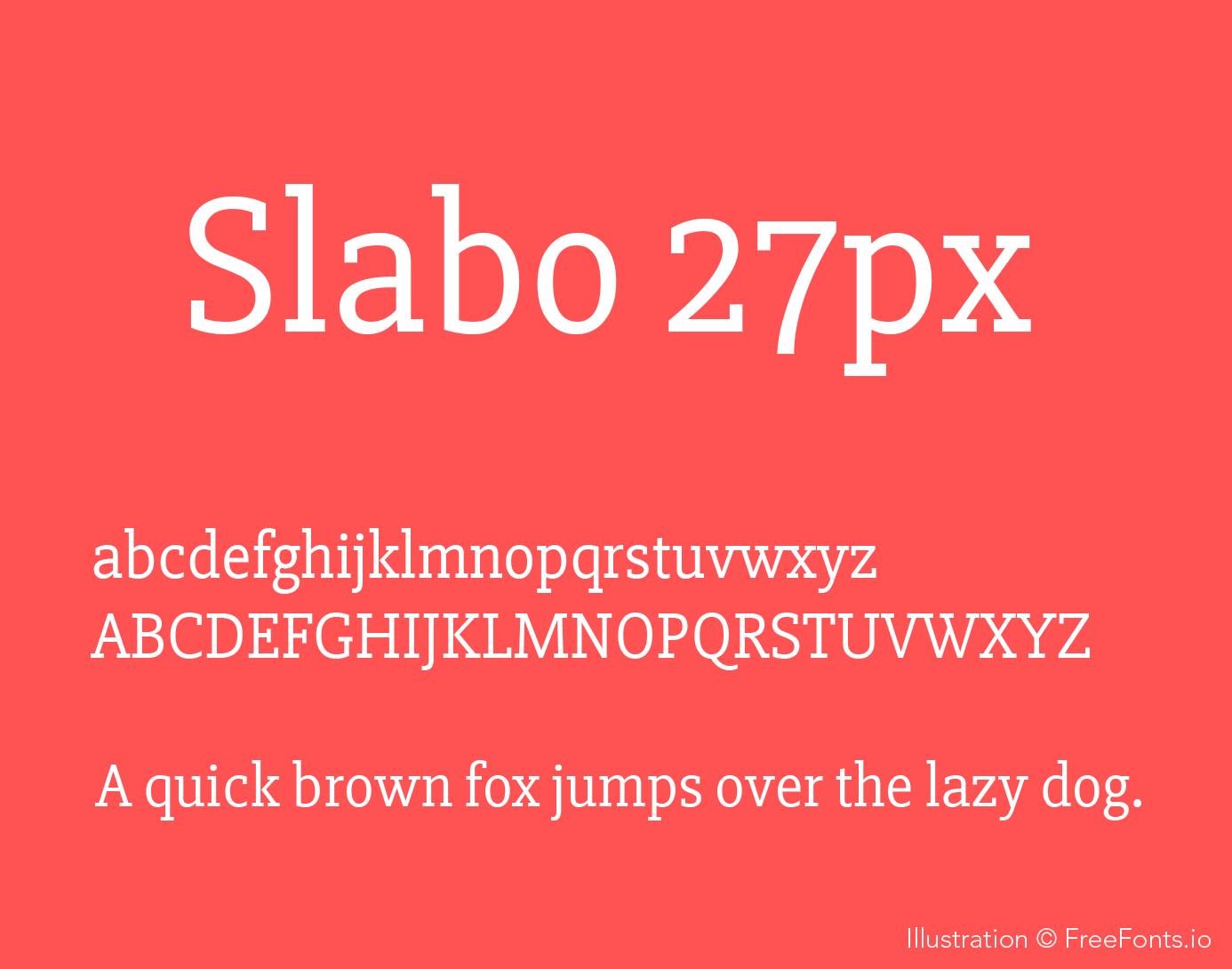 slabo-27px-font