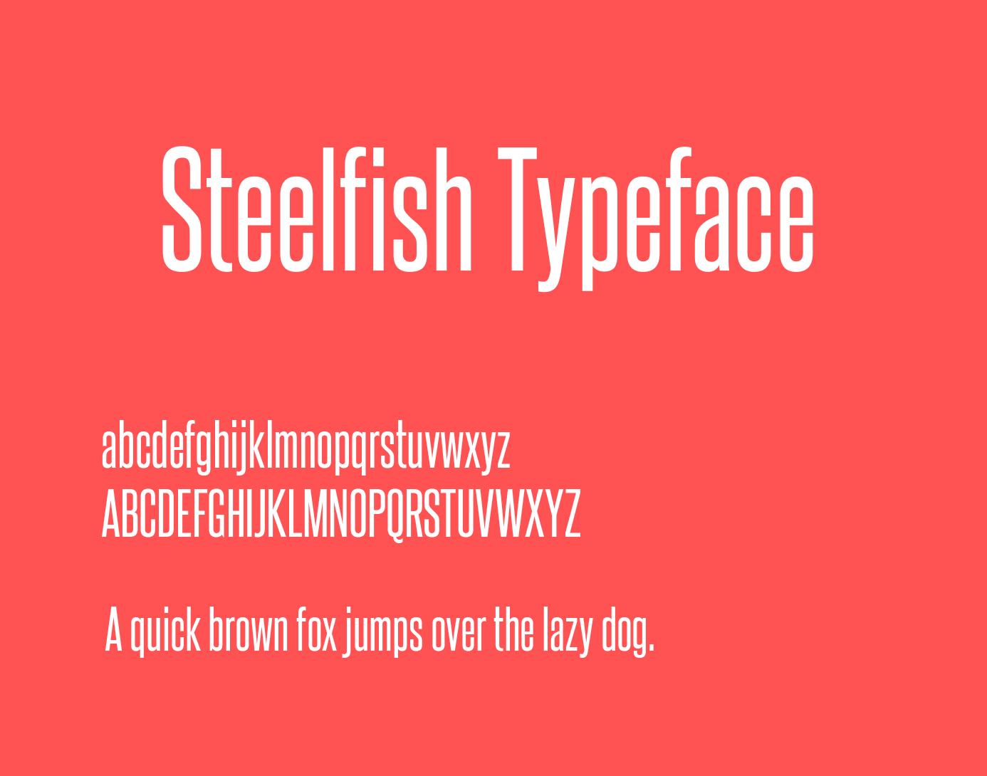 steelfish-font