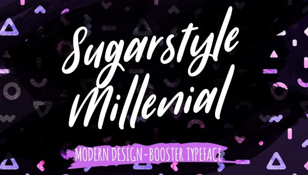 Sugarstyle Millenial Font