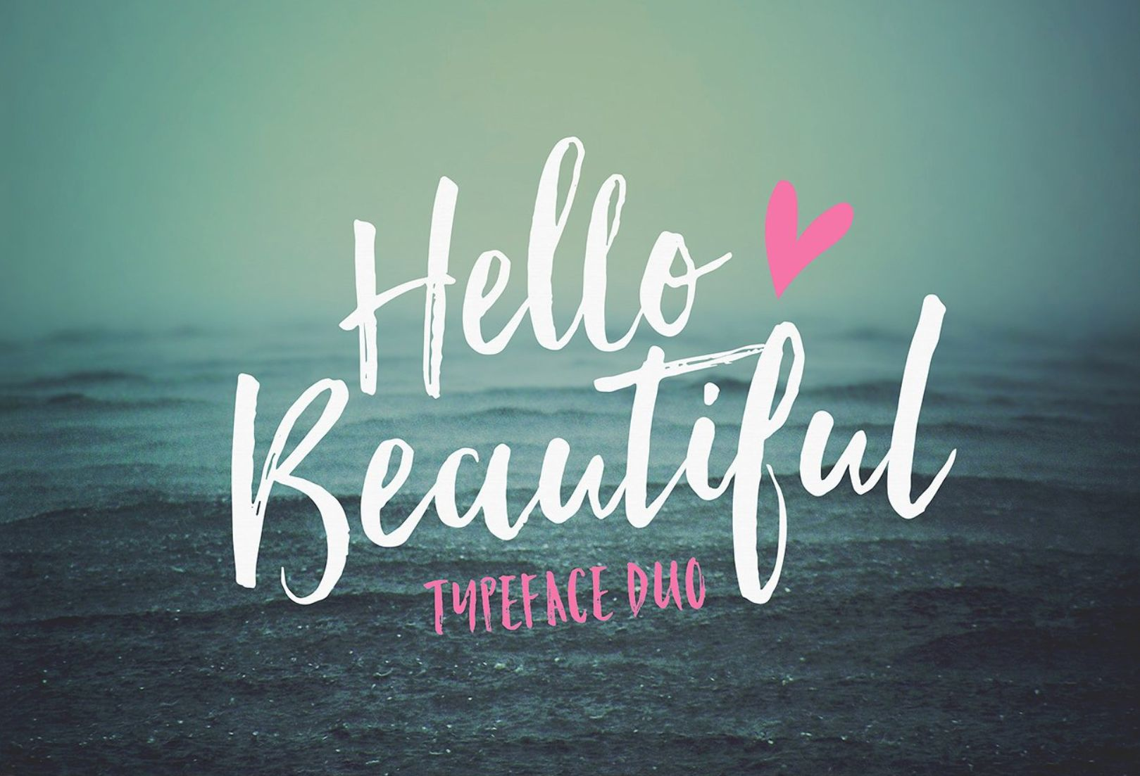 Fonts Product Images ~ Hello Beautiful… ~ Creative Market