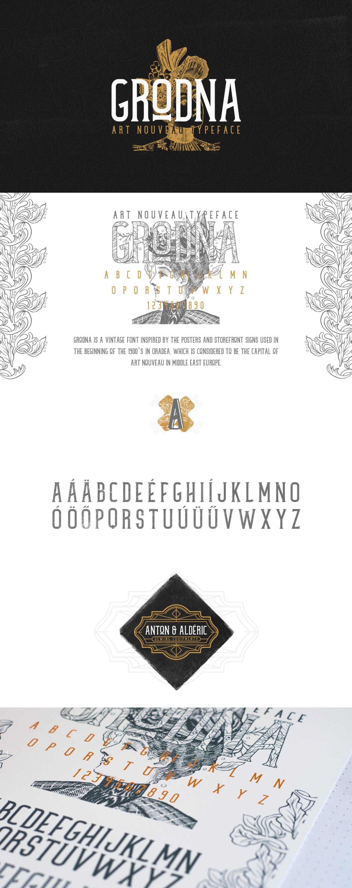 Grodna Typeface