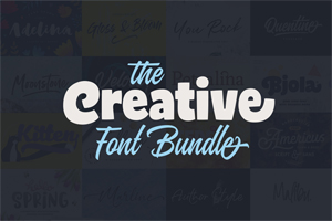 creative font bundle