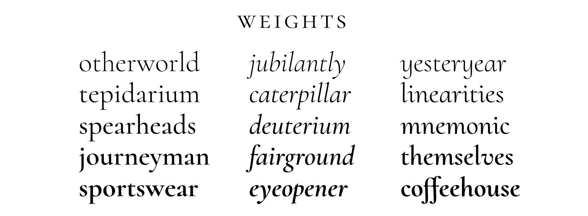 cormorant font banner8