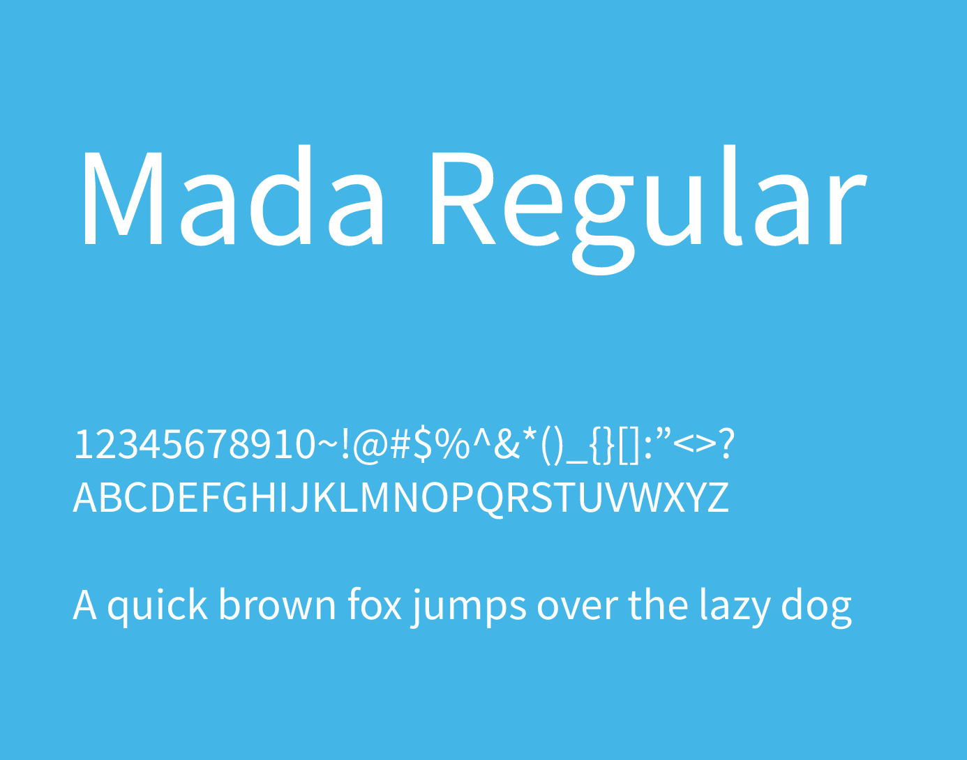 mada regular