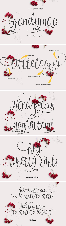 Grandymaa Typeface