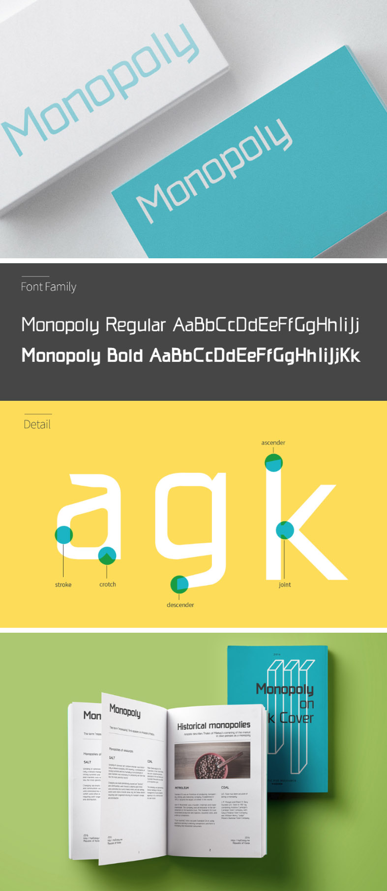 Monopoly typeface