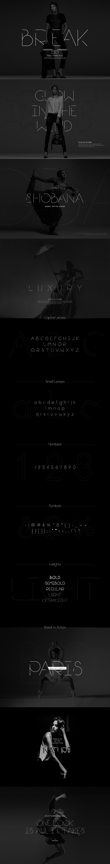 Break free font