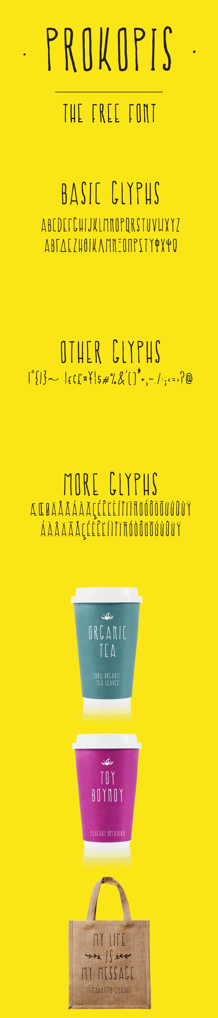 Prokopis Free Font