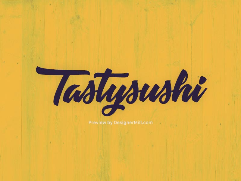 Tastysushi-Free-Font