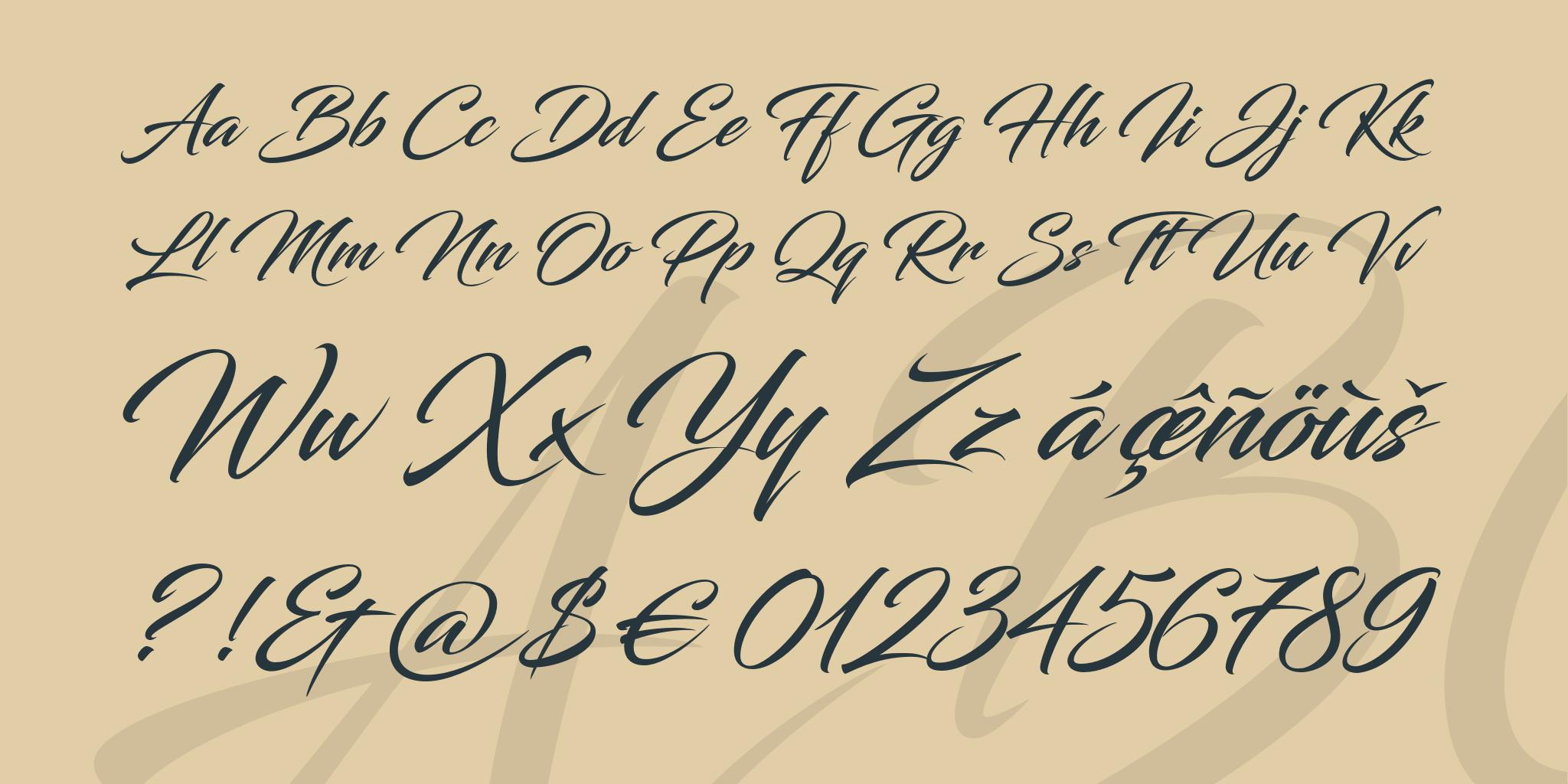 Все шрифты на которых делают тату