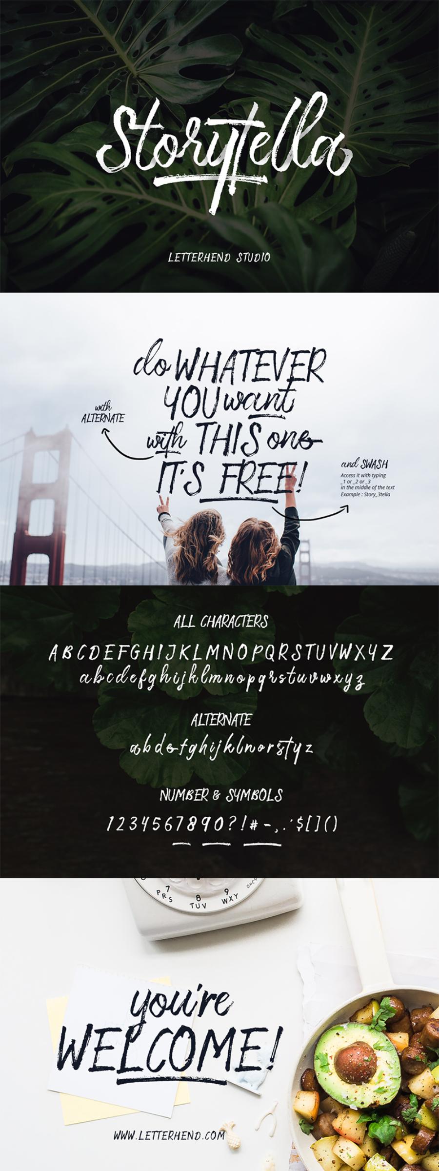 storytella-free-font_letterhend-studio_070817_prev01