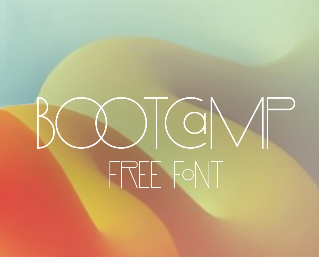 Bootcamp font