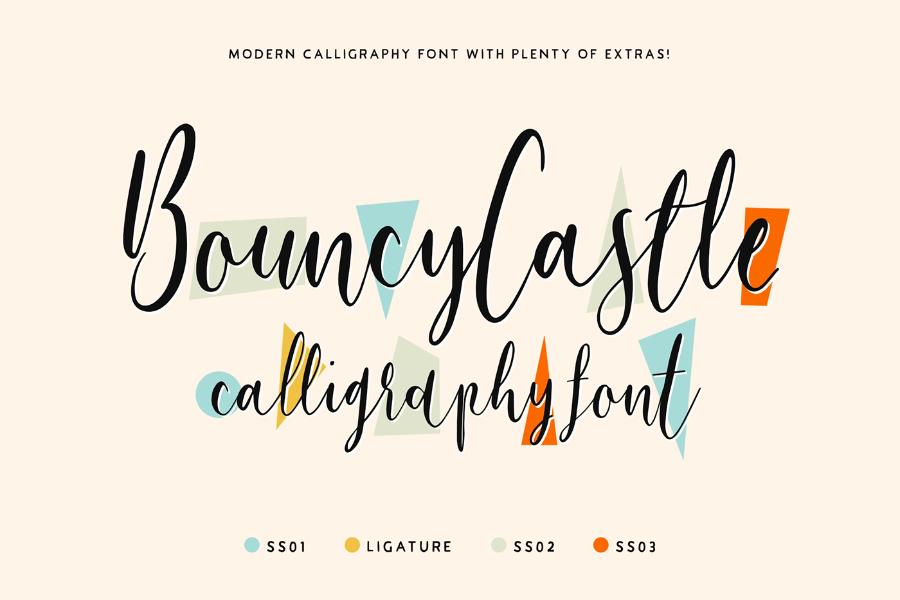 Bouncy Castle Font