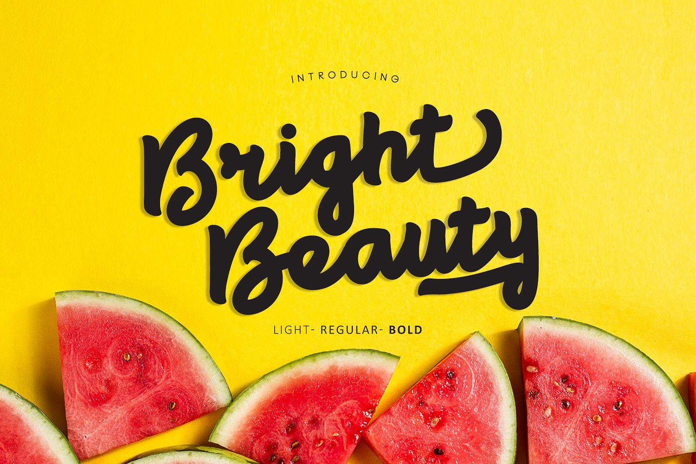 Bright Beauty Font Free Fonts