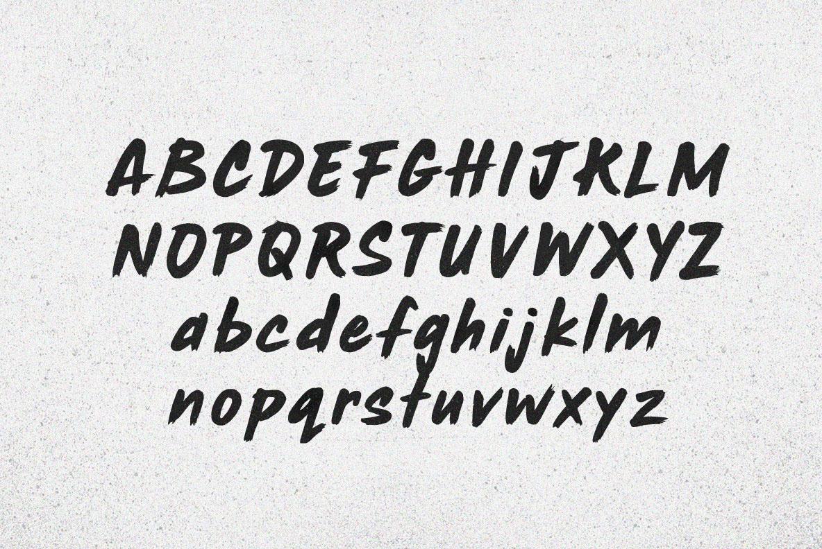rush-hour-brush-font-1