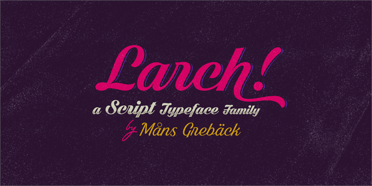 shaded-larch-font