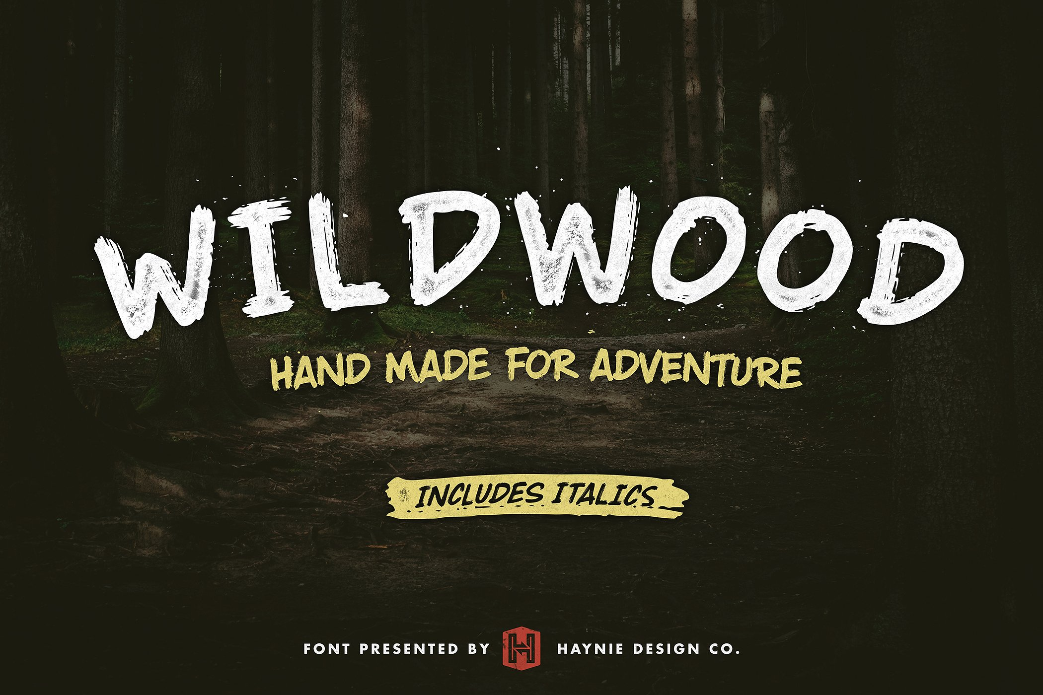 wildwood-dry-brush-lettering-font