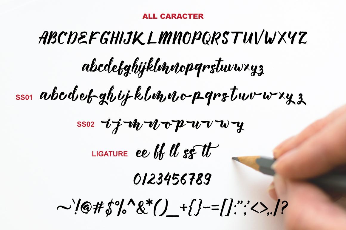 Manttes Script Brush 5