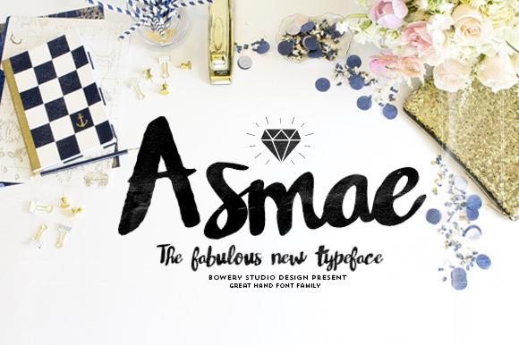 Asmae Handwritten Font