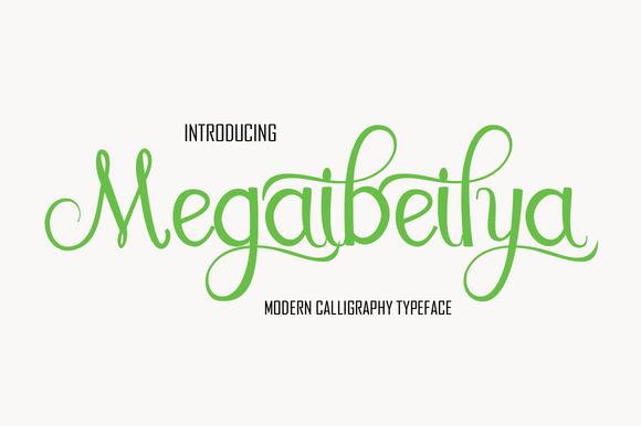 Megaibeilya Script Font