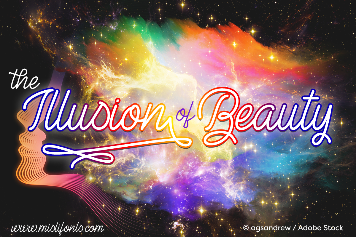 the-illusion-of-beauty-font